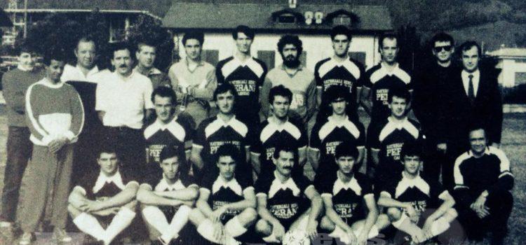 Volti e passione in fotografia, a Casnigo mezzo secolo di calcio