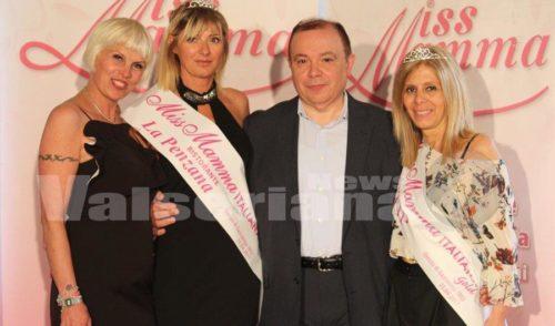Miss Mamma Italiana ad Orezzo, titolo a Voghera. Sul podio Mara Zaninoni di Gandino