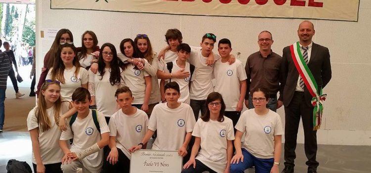 Giornalismo scolastico, gli studenti della Paolo VI di Alzano premiati a Chianciano Terme