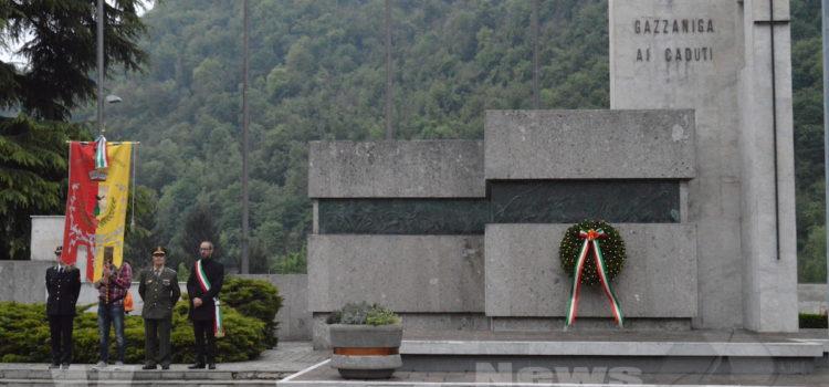 """25 aprile a Gazzaniga: """"La Costituzione non sia un libro dei sogni"""""""