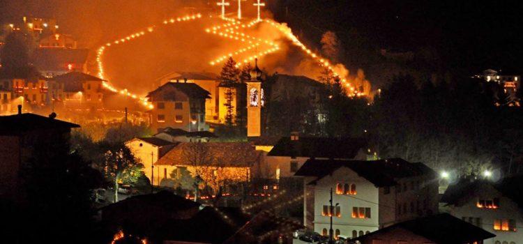 A Gromo la tradizionale processione del Venerdì Santo