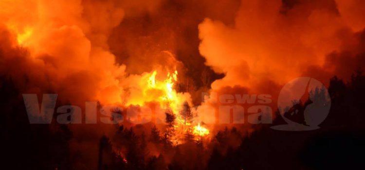 Da Regione Lombardia 2 milioni per la lotta agli incendi in provincia di Bergamo