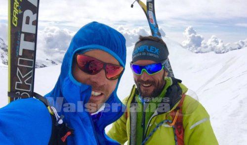 Sci alpinismo: Pietro Lanfranchi terzo al trofeo Mezzalama