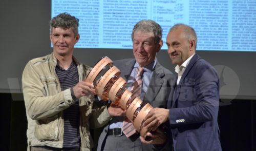Lovere presenta il Giro con Gimondi, Gotti e Savoldelli