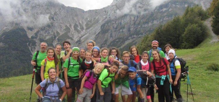 Zaino in spalla, di nuovo al via l'Alpinismo Giovanile in Val Gandino
