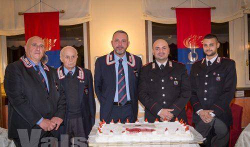 Festa con benvenuto, i Carabinieri della Val Seriana salutano il maresciallo Ciaco