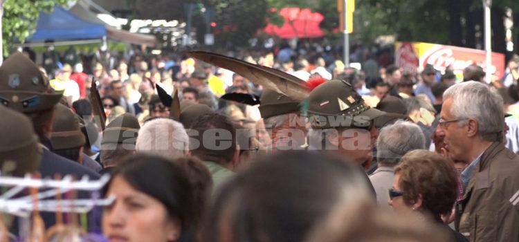 500mila gli alpini a Treviso: domani alle 9 prenderà il via la sfilata – Video e foto