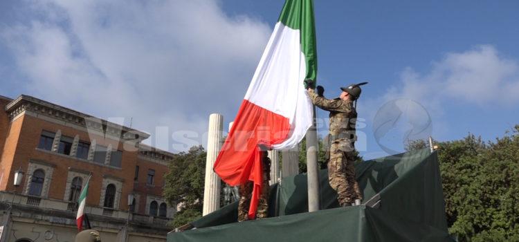 Al via l'Adunata del Piave con l'alzabandiera e l'inaugurazione della Cittadella militare
