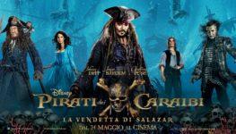 Silenzio in sala – Pirati dei Caraibi – La vendetta di Salazar (Pirates of the Caribbean – Dead men tell no tales)