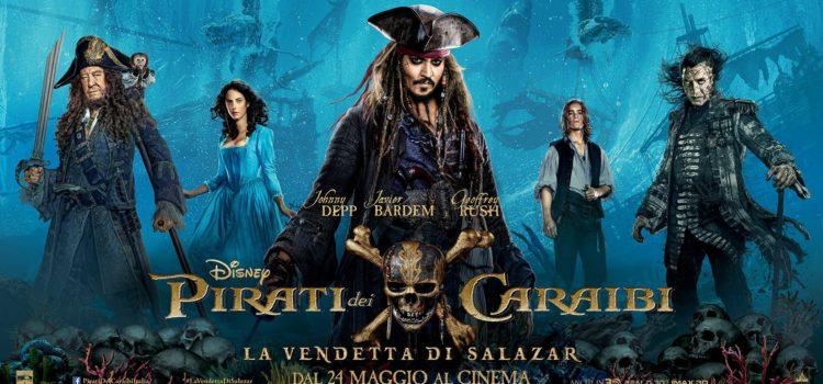 Silenzio in sala – Pirati dei Caraibi – La vendetta di Salazar