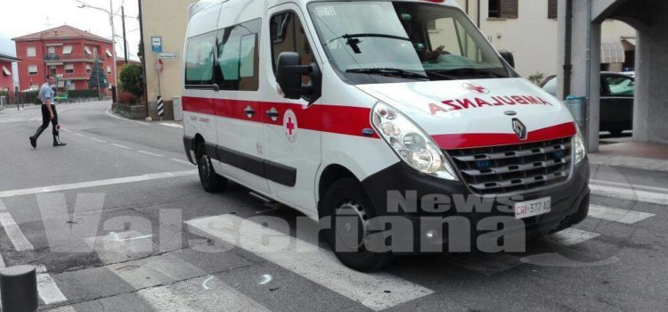 Incidente sulla SP 35 a Nembro, 5 i feriti