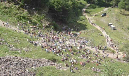 Boom di turisti a Valbondione: in 35.000 alle Cascate e + 143% di presenze