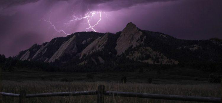Temporali e fulmini in montagna, qualche consiglio