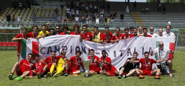 A Forte dei Marmi la Juniores Virtus Bergamo è Campione d'Italia: toscani battuti 1 a 0