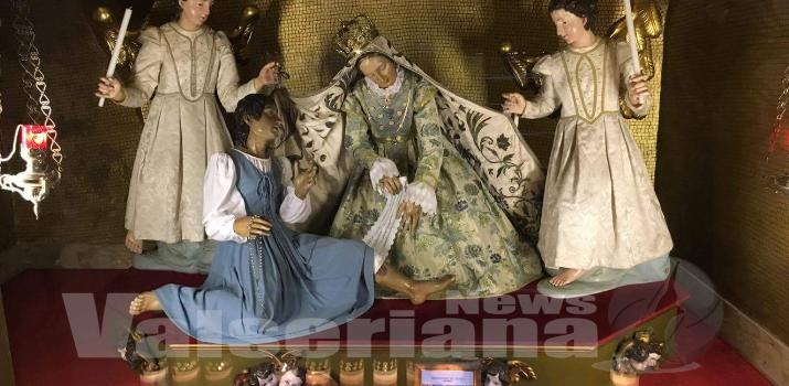 Campane a festa a Desenzano, dopo il furto riaperta la cripta della Madonna della Gamba