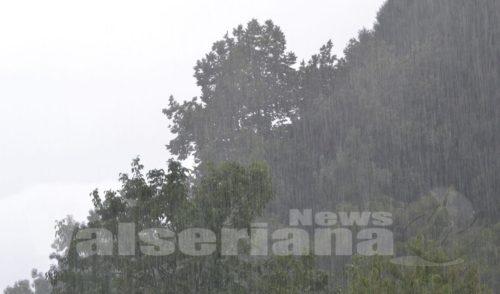 Maltempo, precipitazioni intense anche lunedì