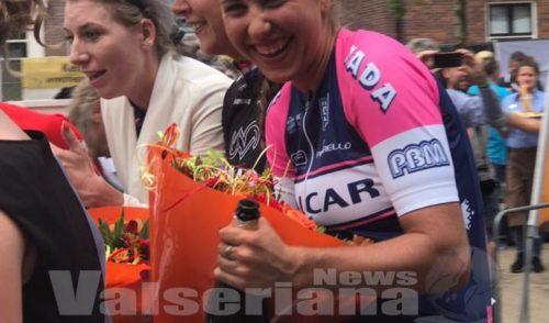 """Silvia Persico vince in Olanda: """"Questa Claudia è tutta per te!"""""""
