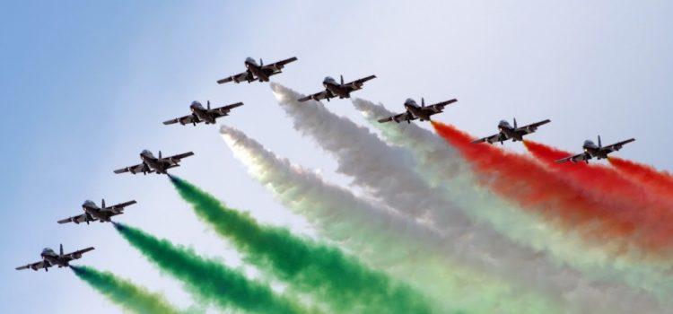 Frecce Tricolori in sorvolo su Lovere in occasione del XV Memorial Stoppani – il programma