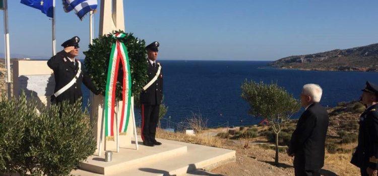 Tragedia dell'Oria, il presidente Mattarella rende omaggio ai caduti in Grecia. Fra loro molti bergamaschi