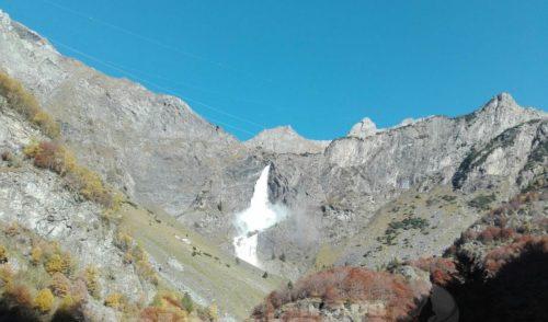 13 ottobre, ultima apertura delle Cascate del Serio