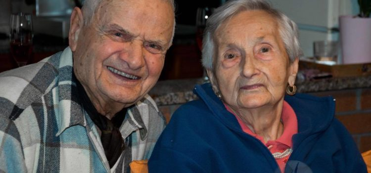 Songavazzo, 69 anni d'amore per Teresa e Rinaldo