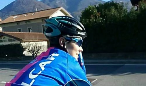A 4 mesi dall'incidente Claudia Cretti torna in sella