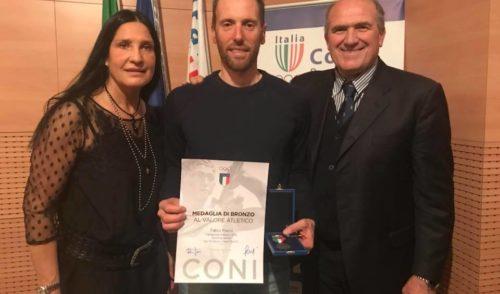 Serata di stelle al Coni di Bergamo: premiati gli atleti meritevoli