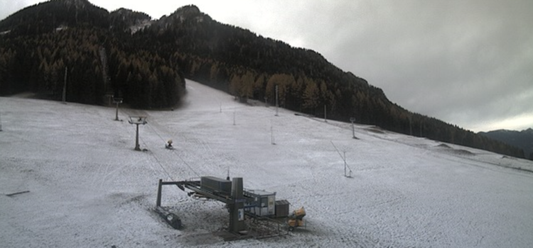 Meteo – Neve fino a 1200 metri, inizio settimana ventoso e freddo