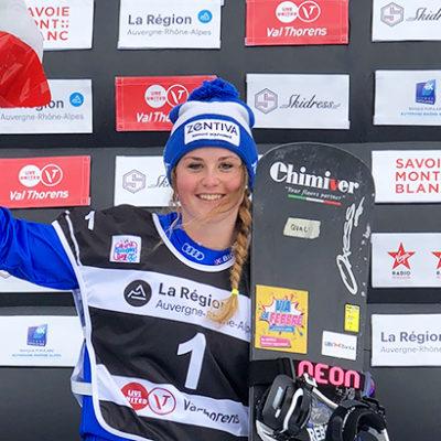 Primo podio di stagione per Michela Moioli