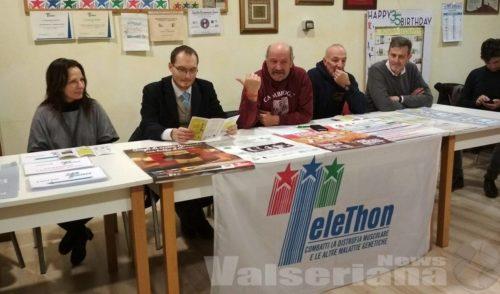 Raccolta fondi e staffetta, in Val Seriana due weekend con Telethon