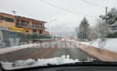 Dopo la neve ecco la pioggia, migliora la viabilità sulle strade principali