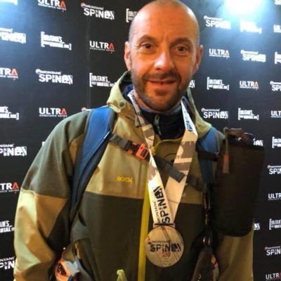 Bosatelli di nuovo nella storia: 9° nell'impresa invernale della Montane Spine Race