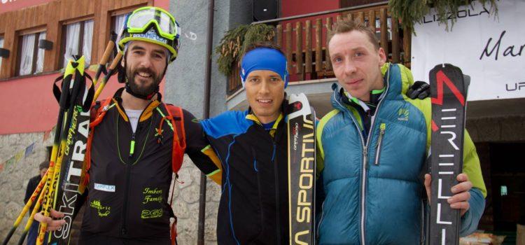 """Sci alpinismo: William Boffelli vince la """"Mario Merelli C'è"""". Secondo Pietro Lanfranchi"""