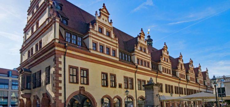 Benvenuti a Lipsia, dove l'acqua suona e danza… sarà uno dei tanti incantesimi di Faust?