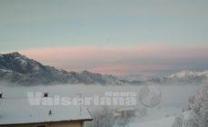 Risveglio imbiancato in Val Seriana