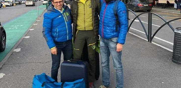 Oliviero Bosatelli a Manchester per affrontare i 429 km della Montane Spine Race
