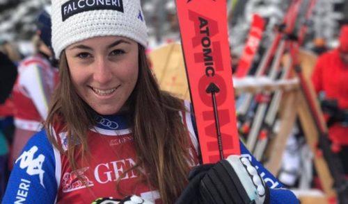 """Assegnato a Sofia Goggia il premio """"La Città di Bergamo ai suoi atleti"""""""