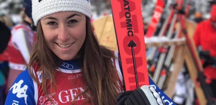 Sofia Goggia torna sul podio, prima nella discesa libera di Crans Montana