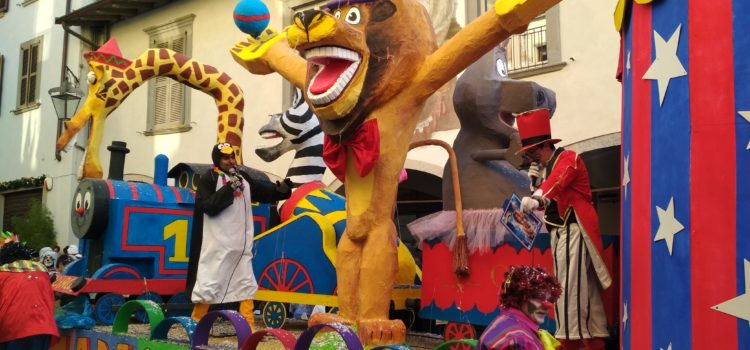 Madagascar dell'oratorio di Clusone vince la 66esima edizione del Carnevale Clusonese – foto