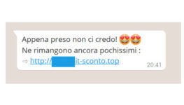 TechCafè – La fregatura arriva via chat