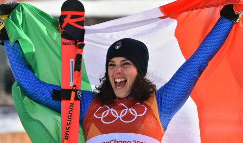 Olimpiadi PyeongChang slalom gigante: Bronzo per la Brignone, Sofia Goggia undicesima