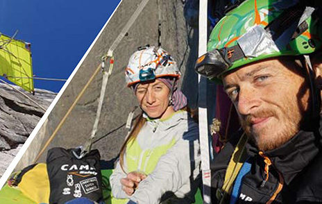 Casnigo, Lola e Diego Pezzoli raccontano la loro scalata estrema