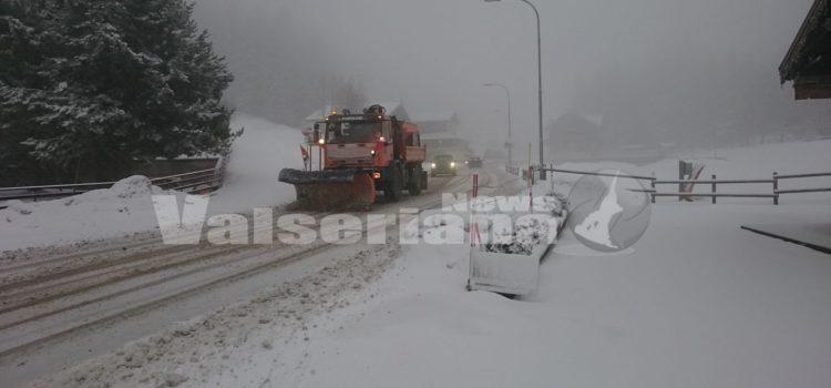 Emergenza neve: venerdì 1 febbraio predisposta la chiusura delle scuole a Vilminore