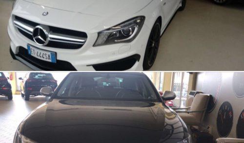 Rubate due auto all'autosalone di Gazzaniga, una Mercedes Amg e un'Audi S6