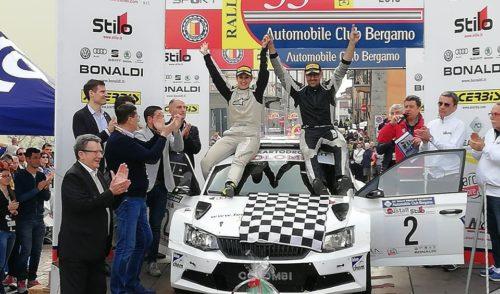 Marco Colombi e Angelica Rivoir vincono la 33esima edizione del Rally Prealpi Orobiche