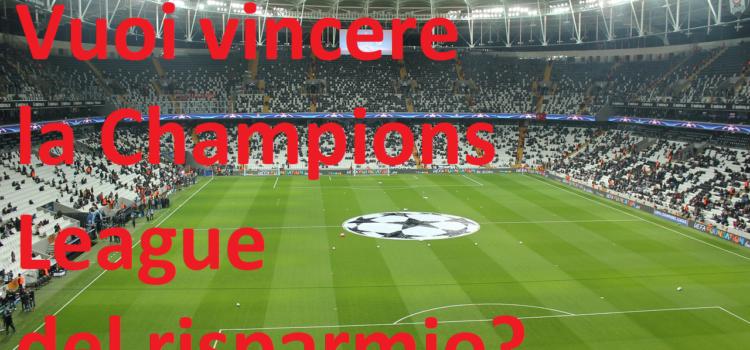 Investire consapevolmente – Vuoi vincere la Champions League del risparmio?