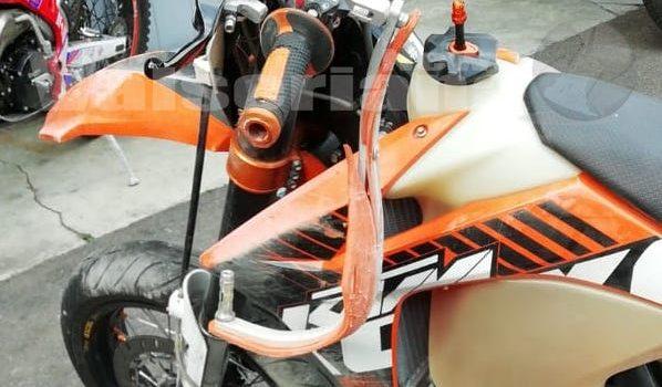 Incidente auto – moto ad Ardesio, giovane in ospedale