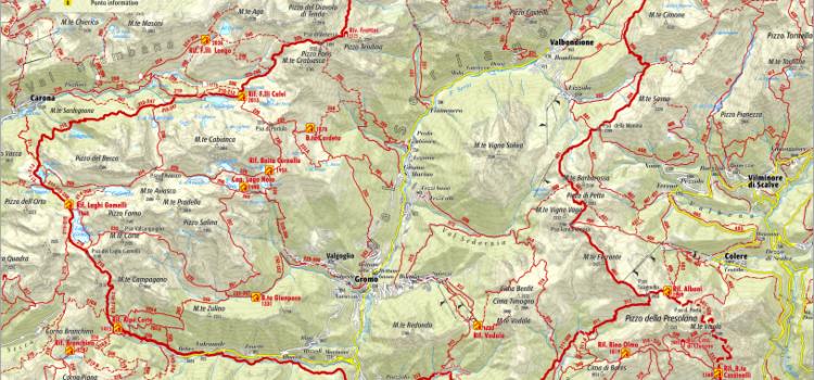 Estate in montagna, le 8 tappe del Sentiero delle Orobie orientali