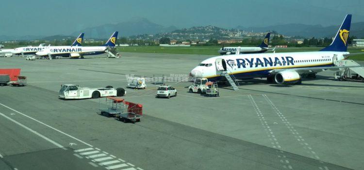 Aeroporto Milano Bergamo Orio al Serio, + 5,7% passeggeri nel primo semestre 2018
