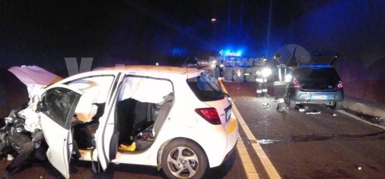 Incidente in galleria ad Albino, 3 auto coinvolte